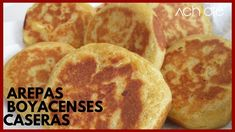 Colombian Arepas, Colombian Food, Chefs, Queso Fresco, Snack, Relleno, Sandwiches, Good Food, Bread