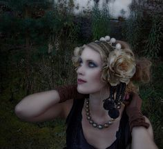 ExAMPLE  custom made  HEADPIECES and COSTUMES  by matakala on Etsy, $110.00