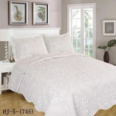 HJ-5-(745) Quilt Sets, King Beds, Comforters, Pillow Cases, Bedrooms, Blanket, Inspiration, Furniture, Home Decor