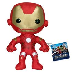 Plushies The Avengers 2012 Movie Iron Man Plush by FunKo: Your favorite Marvel super heroes available in plushes! The cutest mutant on the block! Avengers Games, Avengers 2012, Avengers Movies, Marvel Movies, Marvel Avengers, Iron Man Movie, 2012 Movie, Man Movies, Disney Merchandise