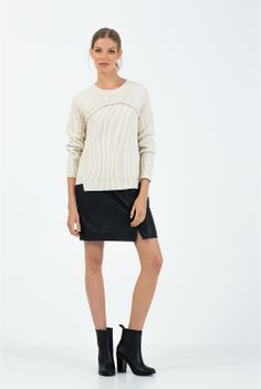 Women's Knitwear   Cardigans & Knits - Country Road Online - Corset Rib Knit