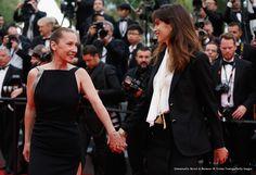Emmanuelle Bercot, Maïwenn |.| Cannes 2015 Redcarpet - Cerimonia di chiusura