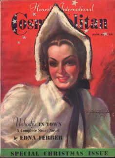 Cosmopolitan January 1938 - Ephemera Forever