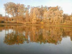 Jezioro Wronie jesień 2015