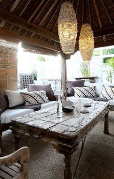 The Travel Files This Gorgeous Home In Bangelow Style Indonesian Decorindonesian Houseindia Housebali Houseoutdoor
