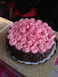 Mom´s birthday cake
