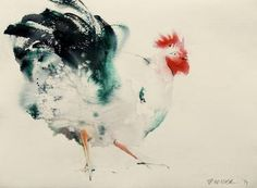 "Saatchi Art Artist Endre Penovác; Painting, ""Vehemence"" #art"