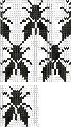 Number: HP116 Päritolu: Pühalepa, Hiiumaa, Estonia Nimetus: Kärbsekiri Kirjakord: 18 silmust