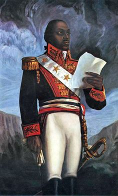 January 22, 1801 Haitian liberator, Toussaint L'Ouverture, enters Santiago to battle the French, 1801  L'Ouverture was a free man at the age of 33. He worked for his former masters, earning a salary, and then owned his own coffee plantation with a few enslaved people working it. In 1792, he became a leader in an increasingly formal alliance between the Black rebellion and the Spanish.