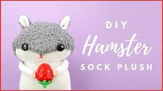 sock plushie tutorial - YouTube