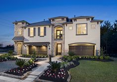 Luxury townhomes in the woodlands creekside park on - Perry homes design center houston ...