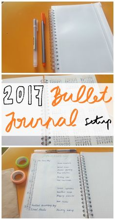 Welcome back to the second post in this little 'Nearly New Year's' series! Today's post is my 2017 Bullet Journal (bujo) layout/setup and everything I've done so far i…