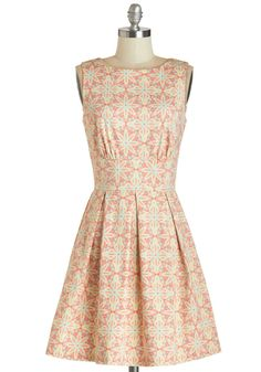 You may not be the girl with kaleidoscope eyes, but you can definitely rock a kaleidoscopic frock!