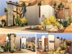 Sims 4 House Building, Sims House Plans, Sims Four, Sims 3, Sims 4 House Design, Casas The Sims 4, Sims 4 Mods Clothes, Sims 4 Build, Micro House