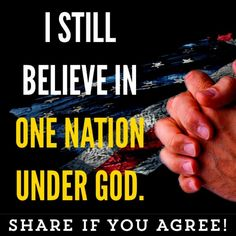 One Nation Under God!!