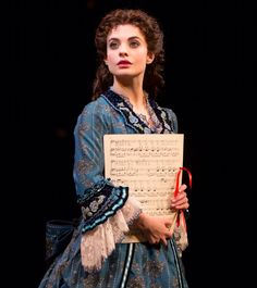 Julia Udine as Christine on Broadway, I SAW HER AND NORM LEWIS!!! :D <3 :D <3