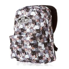 faf363ae924 Shopstyle ! VANS OFF THE WALL X ASPCA Realm CAT Cats WOMENS MENS BACKPACK   VANS  Backpack