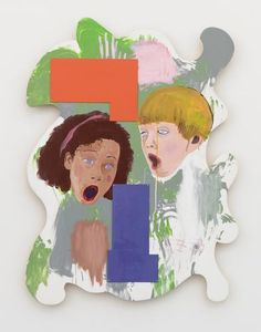 Image result for mike kelley paintings