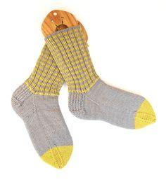 Knitting Socks On Circular Needles Pattern Knit Sock Pattern Otaro Cable Lace Socks Knitting Pattern. Knitting Socks On Circular Needles Pattern 101 S. Cast On Knitting, Knitting Basics, Knitting Videos, Knitting Socks, Knit Socks, Knitting Tutorials, Knitting Projects, Knit Slippers, Yoga Socks