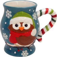 Owl Jumbo Mug, Set of 2 - Walmart.com
