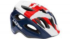 Lazer Kid 's P 'nut British - Casco de ciclismo azul, 45 - 53 cm Cycling Helmet, Bicycle Helmet, Lazer Helmets, Kids Helmets, British, Hats, Uk News, Check, Clothing