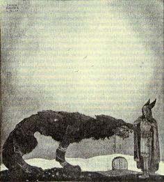 John Bauer-loup