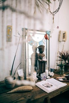 """natali-st: """" Your own sacred space. Sacred space is very important for every home. You can not to cook any offerings and not to pray all day and all night. But it is very important to create a small altar in the most prominent and sunny area of your..."""