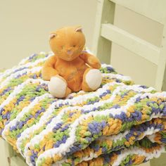 Look what I found on #blitsy! Make your own sweet, cuddly blanket with Bernat Blanket Yarn #blitsybuys