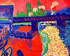 André Derain [Francia 1880\1954] > Charing Cross from sw > 1906 > óleo\lienzo.