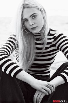 Cover Star Elle Fanning Talks Boys, SnapChat, and Working with 'Maleficent' Costar Angelina Jolie