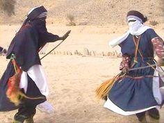 Tuareg men with 'takouba' swords