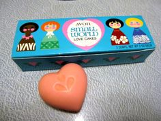 Small World Avon Love Cakes by kitschlandia on Etsy, $14.95 - I remember products like these from my childhood!