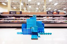 "<p>Carson Davis Brown's ""Mass"" project is a site specific installation project about creating visual disruptions in places of mass (big-box stores, super-centers…). At an intersection between St"