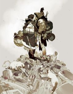 Illustrator Spotlight: Tomer Hanuka - BOOOOOOOM! - CREATE * INSPIRE * COMMUNITY * ART * DESIGN * MUSIC * FILM * PHOTO * PROJECTS