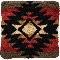 hooked wool cabin - Google Search