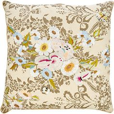 Cream Floral Scatter Cushion