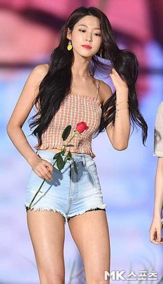 Seolhyun 180802 Album @ Korean Music Fest Post with 393 views. Pretty Asian, Beautiful Asian Women, Kpop Fashion, Korean Fashion, South Korean Girls, Korean Girl Groups, Korean Beauty, Asian Beauty, Kim Seolhyun