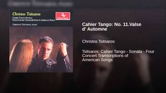 Cahier Tango: No. 11.Valse d' Automne