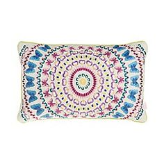 Butterfly Home by Matthew Williamson - Designer natural butterfly kaleidoscope cushion