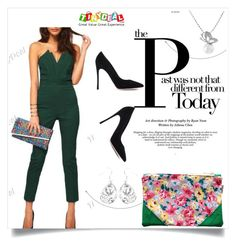 """""""TinyDeal"""" by amra-mak ❤ liked on Polyvore featuring mode, Gianvito Rossi et tinydeal"""