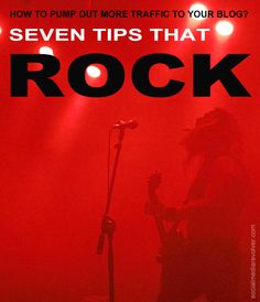 How To Pump-out More Traffic To Your Blog? 7 Tips That Rock! How To Pump Out More Traffic To Your Blog? Seven Tips That Rock! http://socialmediarevolver.com/more-traffic-to-your-blog-7-tips-that-rock/