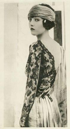 Gladys Zillion, 1919.