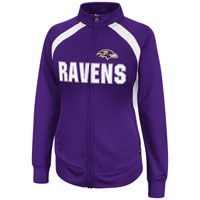 Ravens front zip warm up jacket.