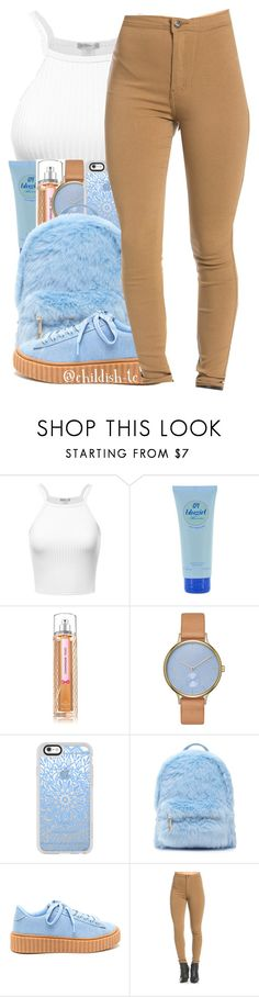"""Untitled #631"" by childish-tc ❤ liked on Polyvore featuring Blumarine, Skagen, Casetify and Forever 21"