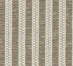Woodnotes Vista table textile fabric, col. white-stone. Fabric Blinds, Curtains, Textile Fabrics, Roller Blinds, White Stone, Designer, Carpet, Home Decor, Table