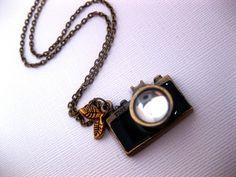Camera Necklace by Fashion Crash Jewelry #Necklace