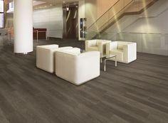 Expona Commercial luxury vinyl tile flooring - Dark Limed Oak