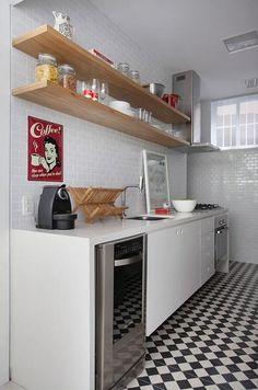 5 Ideas para Instalar unos Estantes en la Cocina | Decorar tu casa es facilisimo.com