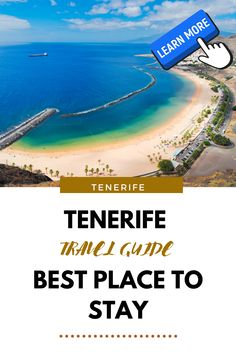 Discover the least windy places in Tenerife. Enjoy your sunny holiday! Canary Islands, Winter Holidays, Seaside, Trip Advisor, Traveling By Yourself, Beach, Lanzarote, The Beach, Beaches