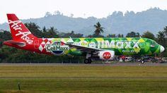 Promosi dalam badan pesawat AirAsia adalah apa yang belum bisa dilakukan oleh perusahaan lain yang sejenis.